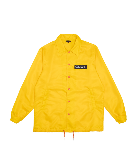 Clot Obey Your Master Coaching Jacket Yellow