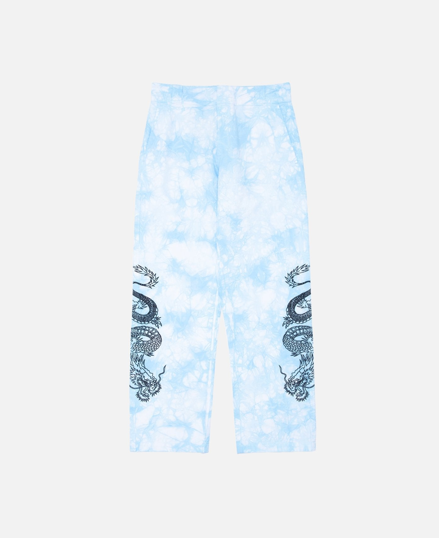DRAGON TIE DYE CHINO (BLUE)