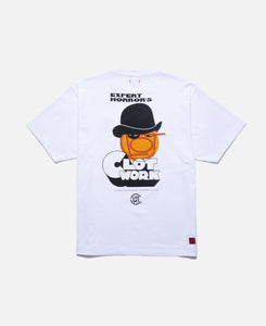 CLOT WORK FACE T-SHIRT (WHITE)