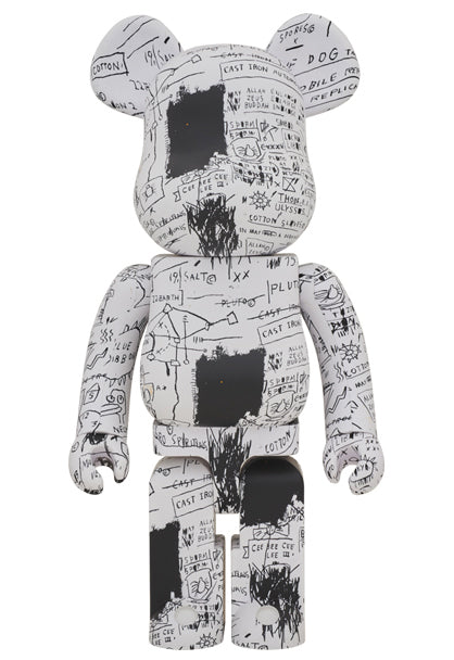Medicom Toy Jean-Michel Basquiat Bearbrick 1000%