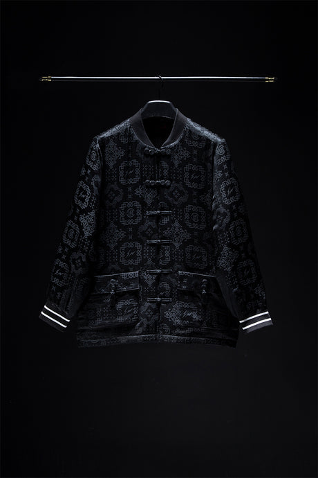 BLACK CHINESE SILK JACKET