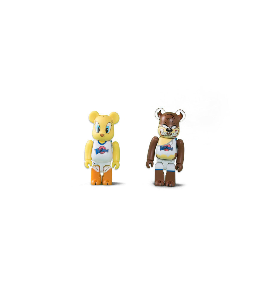 TWEETY & TAZMANIAN DEVIL BEARBRICK 100% SET