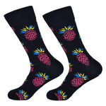Dutch Pop vesele happy socks pisane nogavice ananas
