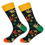 Dutch Pop vesele happy socks pisane nogavice javor