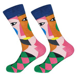 Dutch Pop vesele happy socks pisane nogavice obraz
