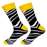 Dutch Pop vesele happy socks pisane nogavice zebra vzorec