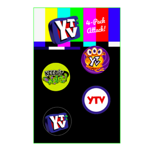 4-Pack Pins-YTV Store-keepitweird.ca