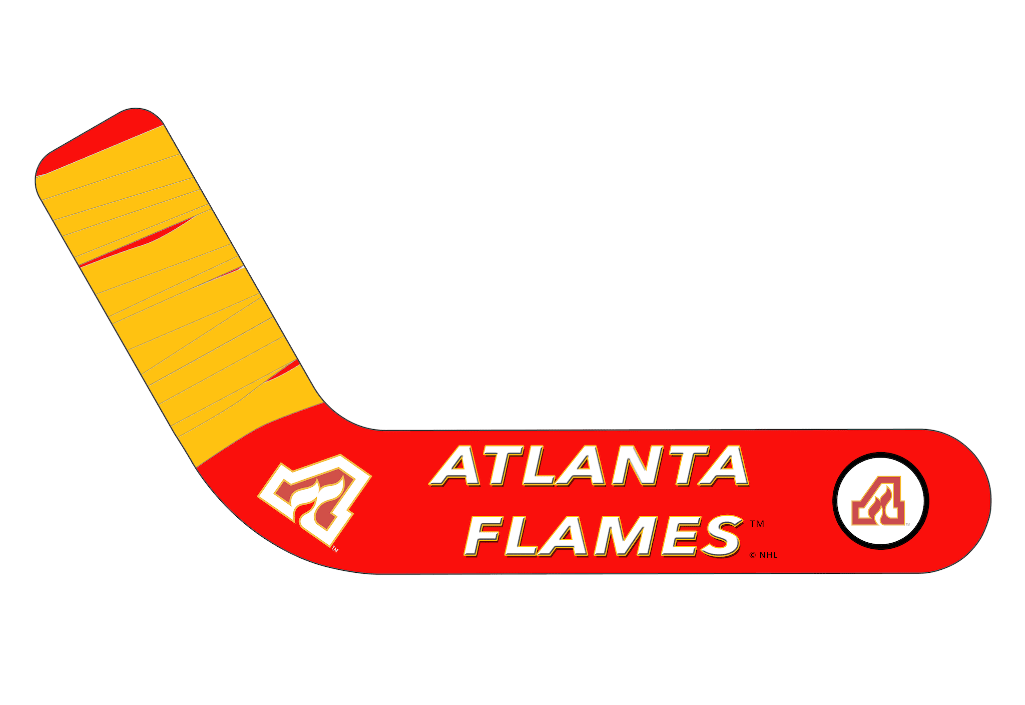 Vintage Atlanta Flames 1972-73 - Ultimate Hockey Ceiling Fans