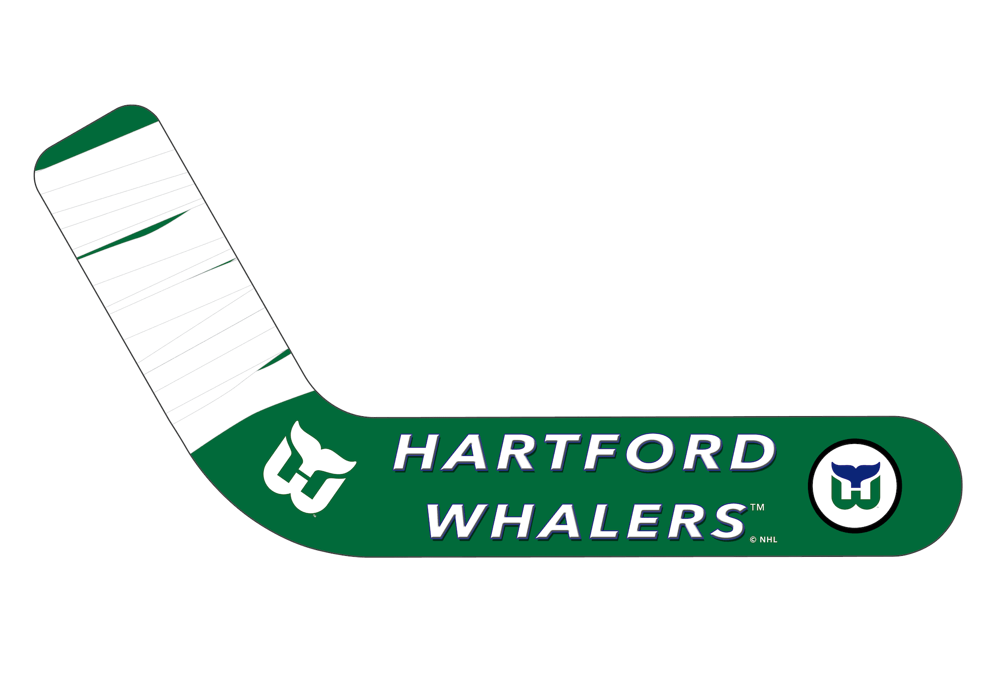 Vintage Hartford Whalers 1979-92 - Ultimate Hockey Ceiling Fans