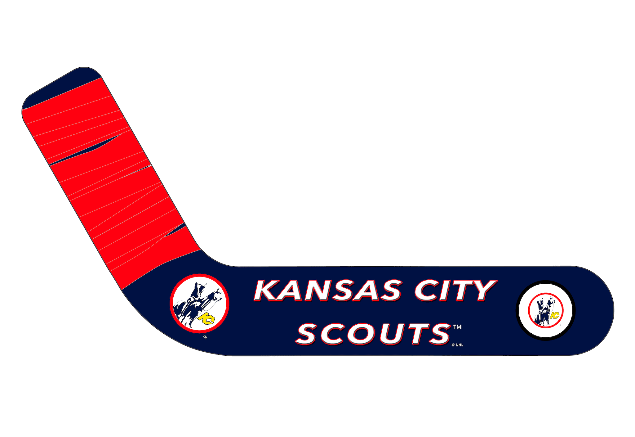 Vintage Kansas City Scouts - Ultimate Hockey Ceiling Fans