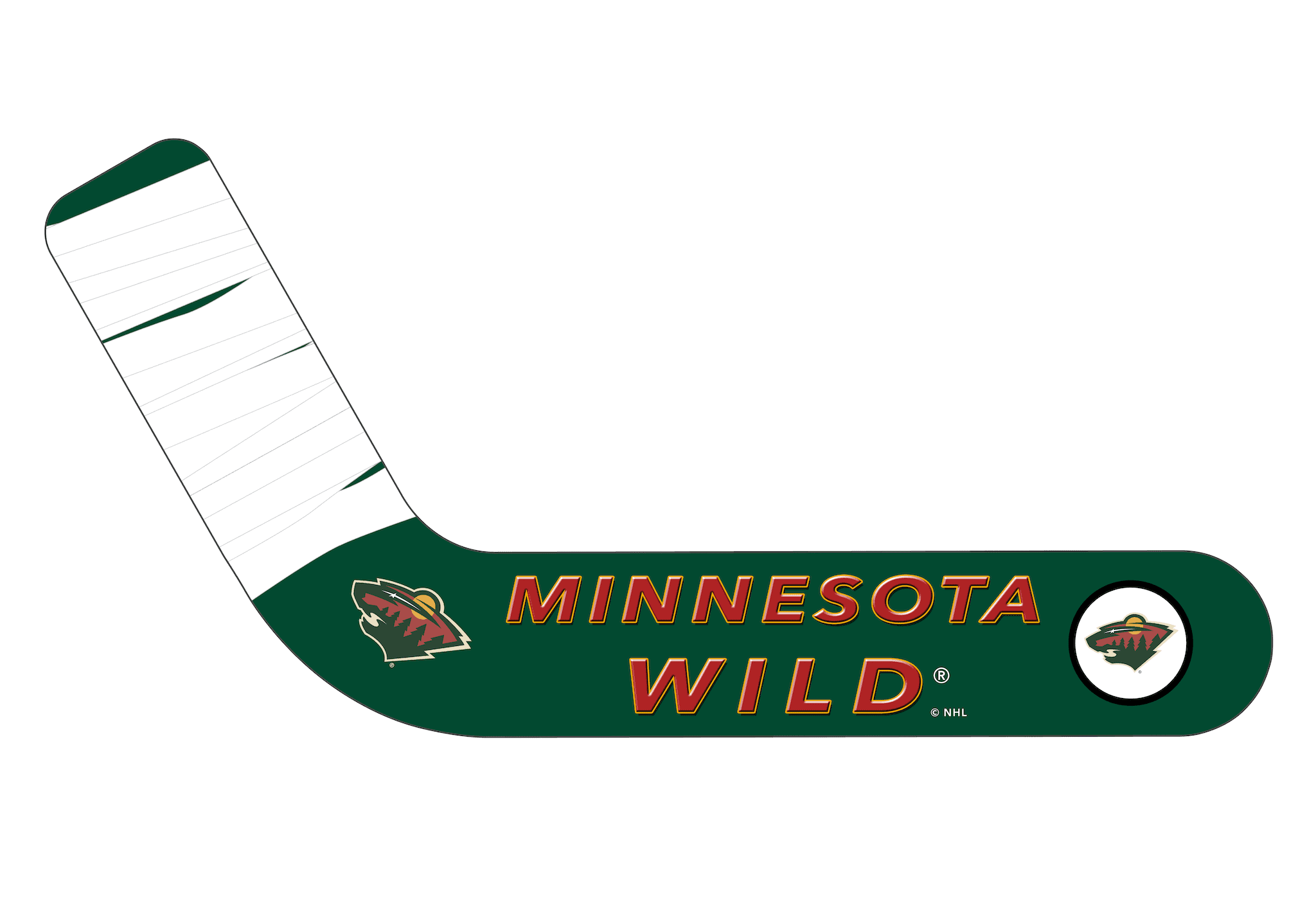 Minnesota Wild® Personalized Blades - Ultimate Hockey Ceiling Fans