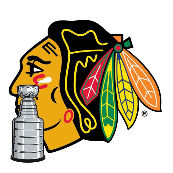 Chicago Blackhawks® Fan Blades Stanley Cup - Ultimate Hockey Ceiling Fans