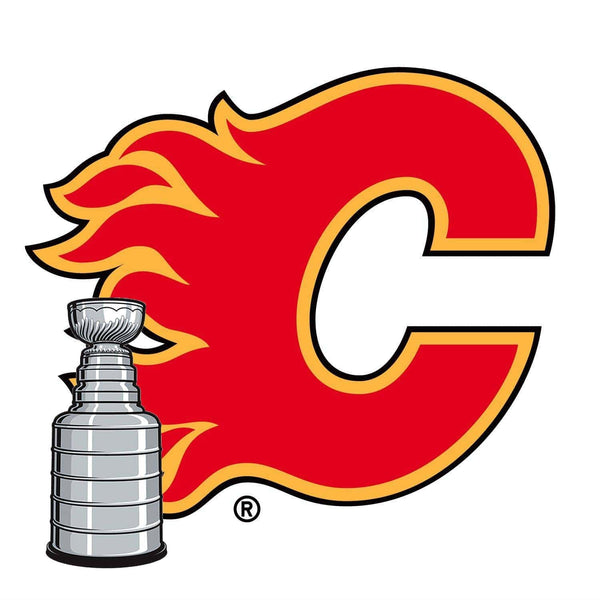 Calgary Flames® Fan Blades Stanley Cup - Ultimate Hockey Ceiling Fans