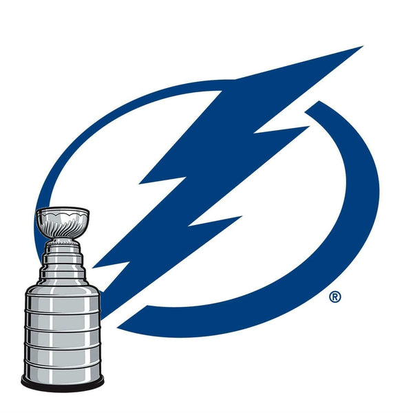 Tampa Bay Lightning® Fan Blades Stanley Cup - Ultimate Hockey Ceiling Fans