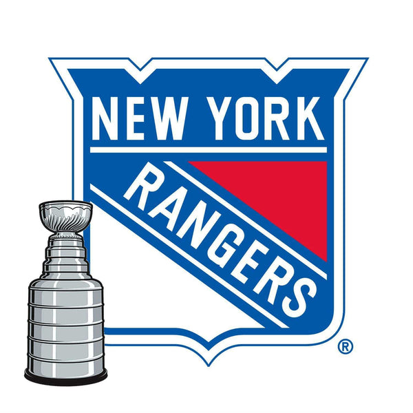 New York Rangers ® Fan Blades Stanley Cup - Ultimate Hockey Ceiling Fans