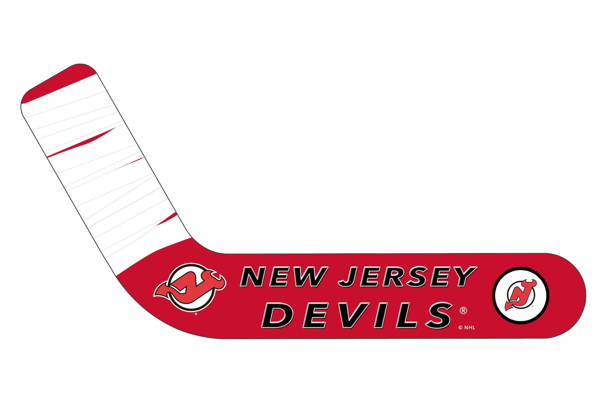 New Jersey Devils® Personalized Blades