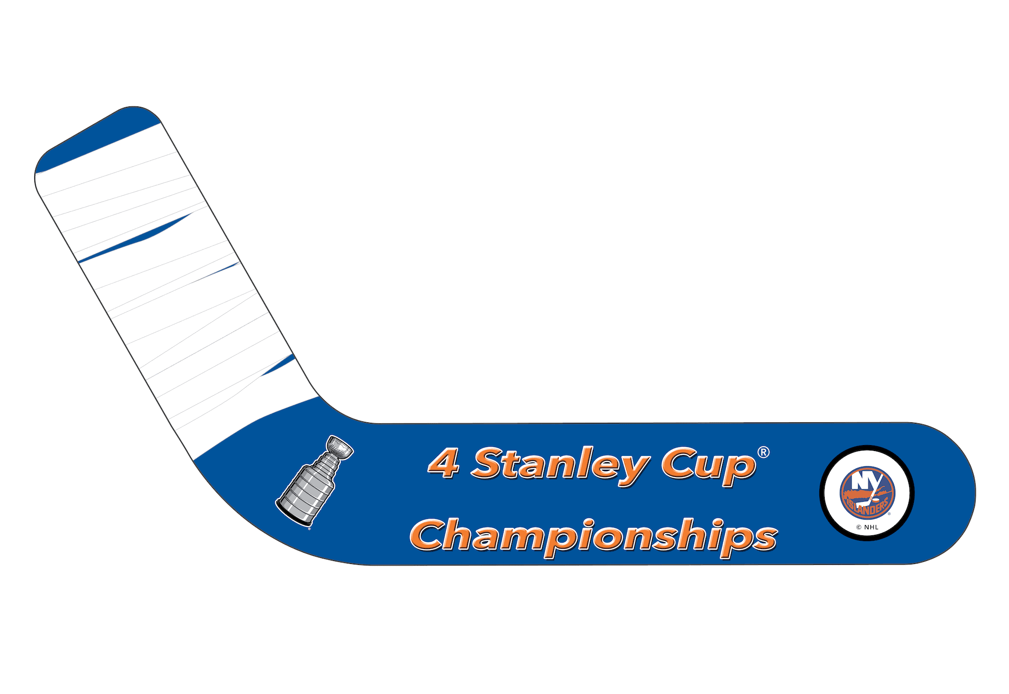 New York Islanders® Fan Blades Stanley Cup - Ultimate Hockey Fans