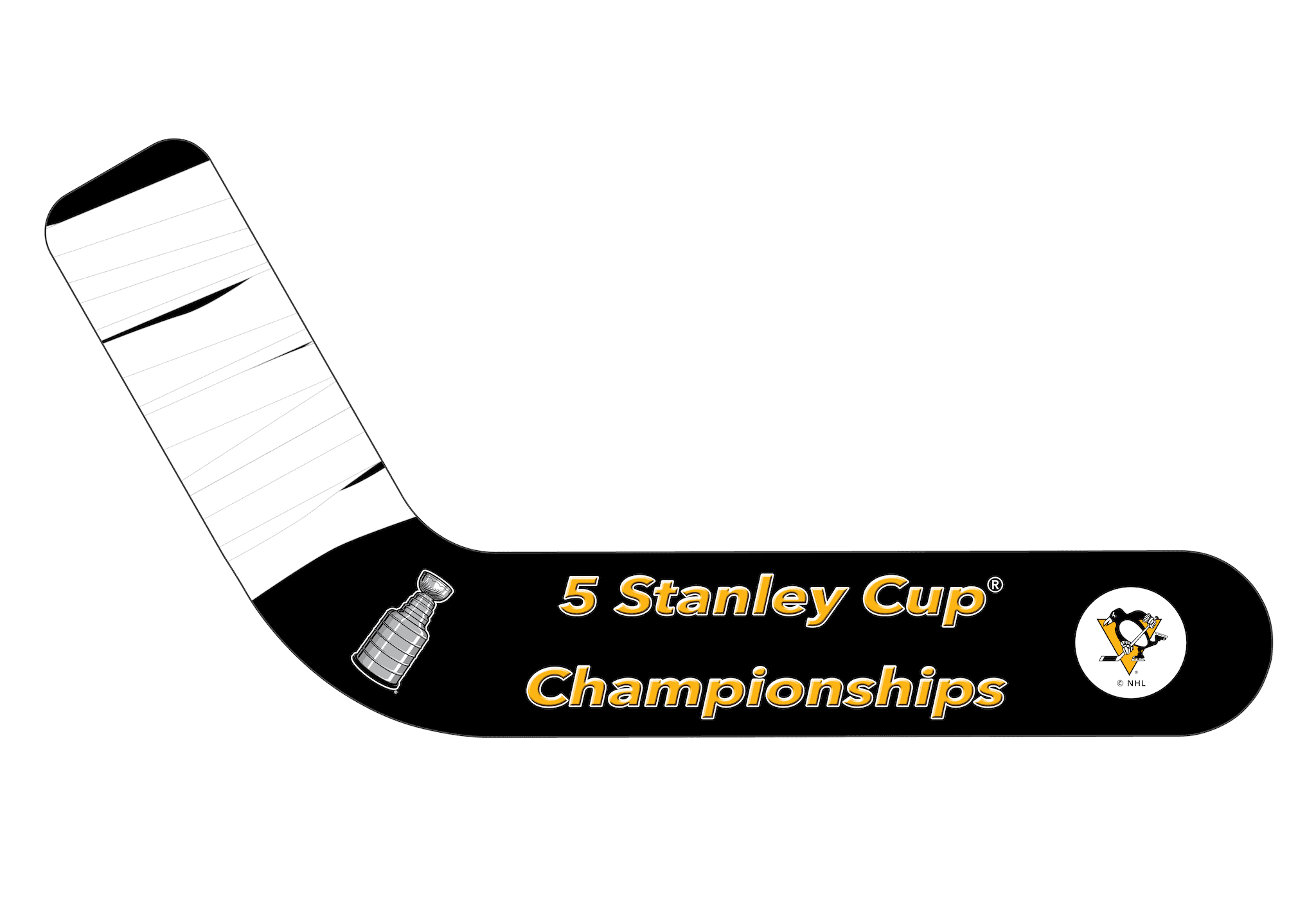 Pittsburgh Penguins® Fan Blades Stanley Cup - Ultimate Hockey Ceiling Fans