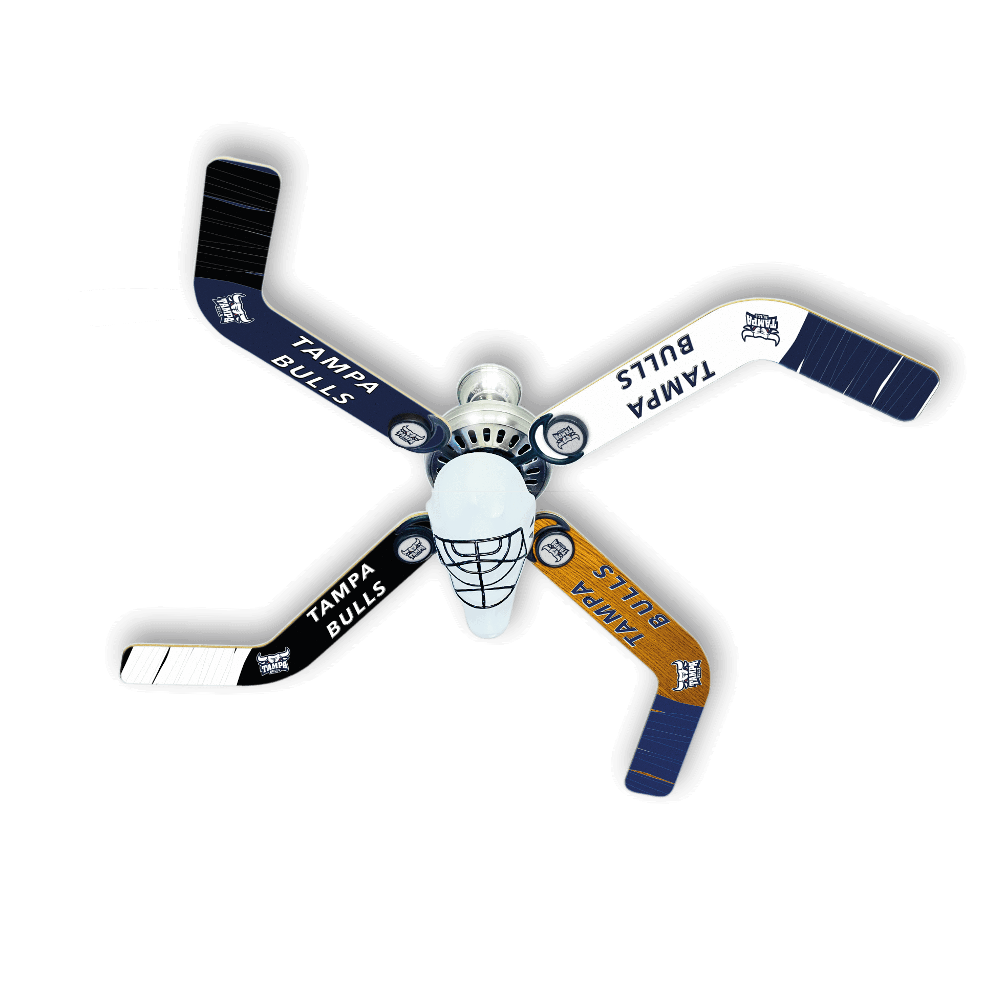 Tampa Bulls Hockey Ceiling Fan