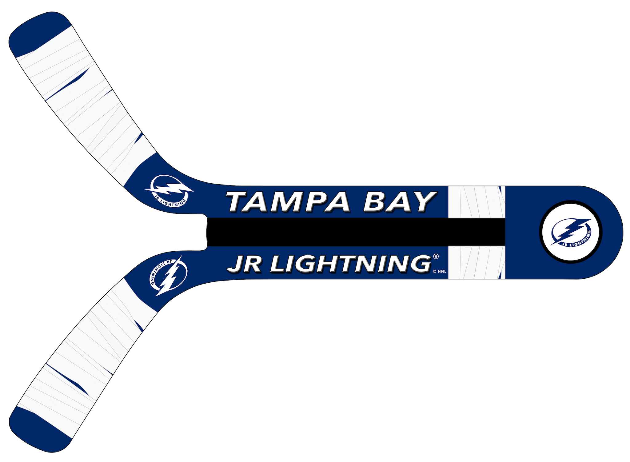 Tampa Bay JR Lightning Fan Blades