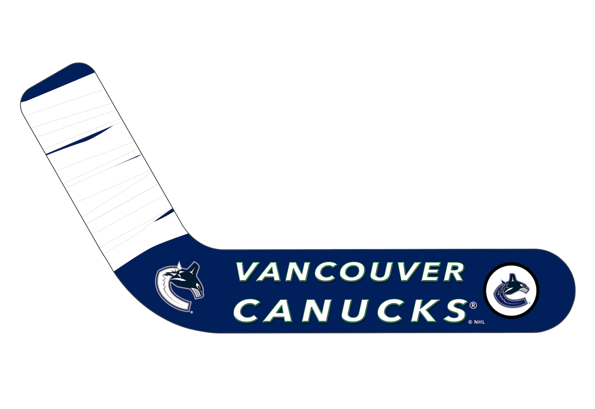 Vancouver Canucks® Personalized Blades