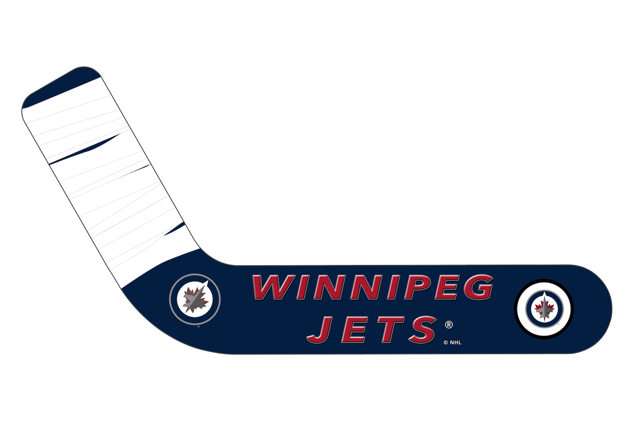 Winnipeg Jets™ Personalized Blades - Ultimate Hockey Ceiling Fans