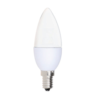 LED Candelabra Lamp [Frosted] – 5 Watts (2700K)