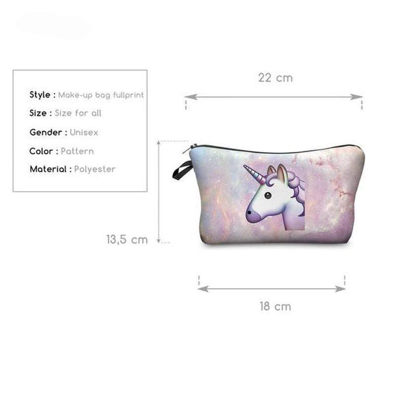 Unicorn Cosmetic Bag - ModernMua