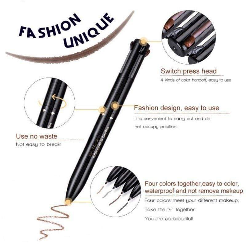 4-Color All-in-One Pen - ModernMua