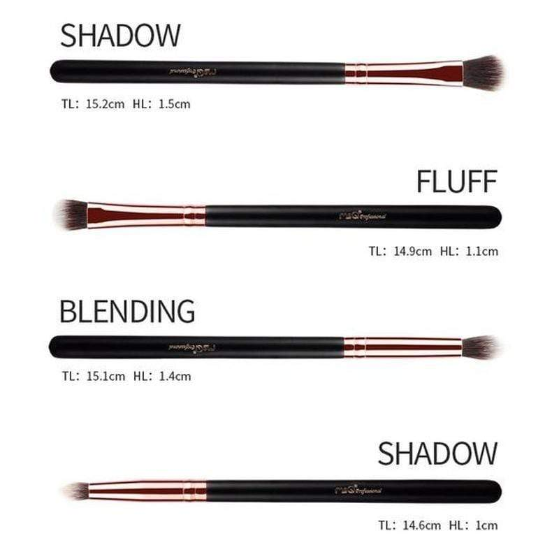msQ Eyeshadow Brush Set 12Pcs - ModernMua