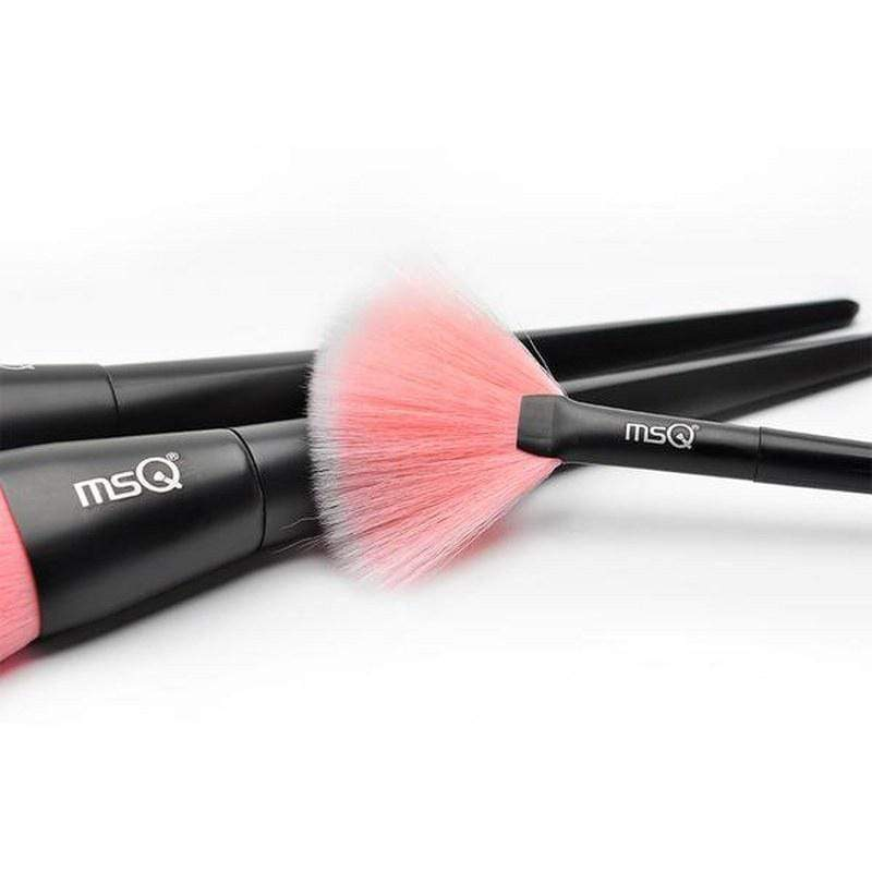 msQ Basic Pink Brush Set 15Pcs - ModernMua