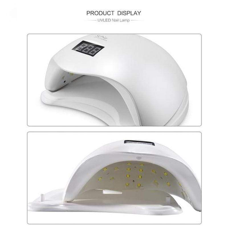 ModernMua Nail Sun5 48W UV LED Nail Dryer
