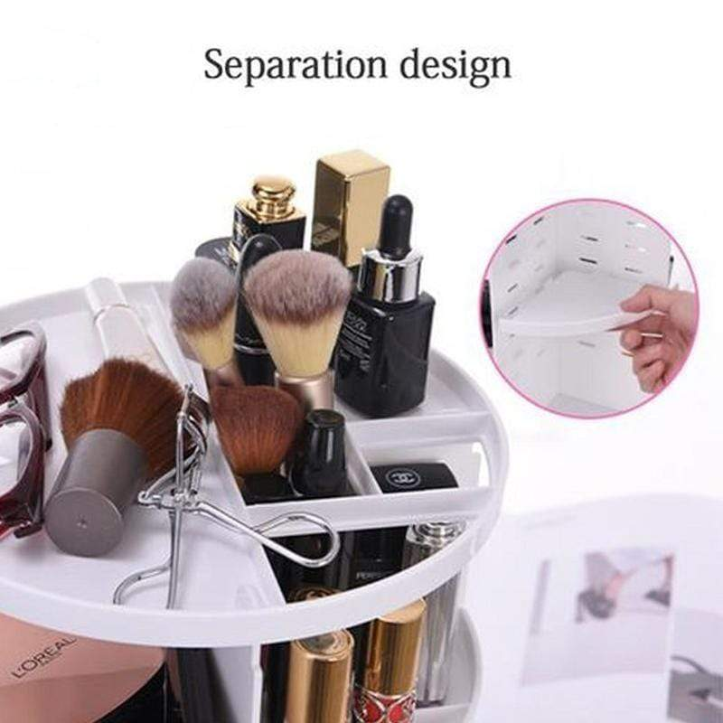 360 Rotating Make Up Organizer - ModernMua