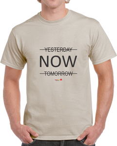 Classic T-shirt Tan - The Power Of Now!