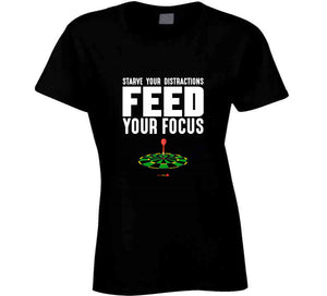 Feed Your Focus - Classic T-shirt Black