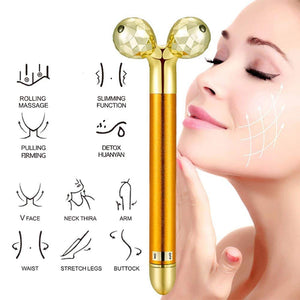 Energy Beauty Bar, 24k Golden Pulse Facial Massager