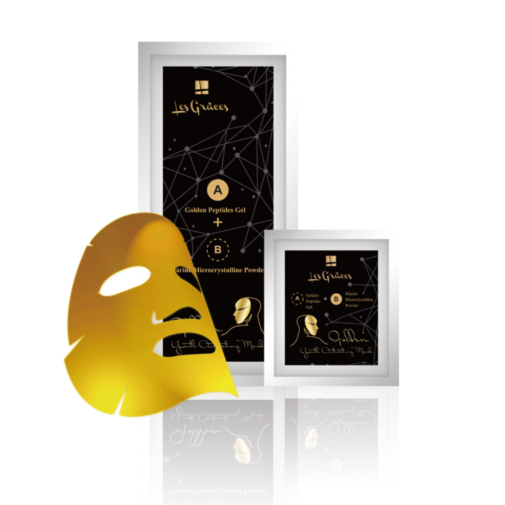 "LesGraces Golden Youth Activating ""Gel"" Mask By Amberseed"