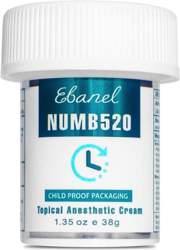 Ebanel 5% Lidocaine Topical Numbing Cream