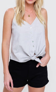 Button Down Camisole