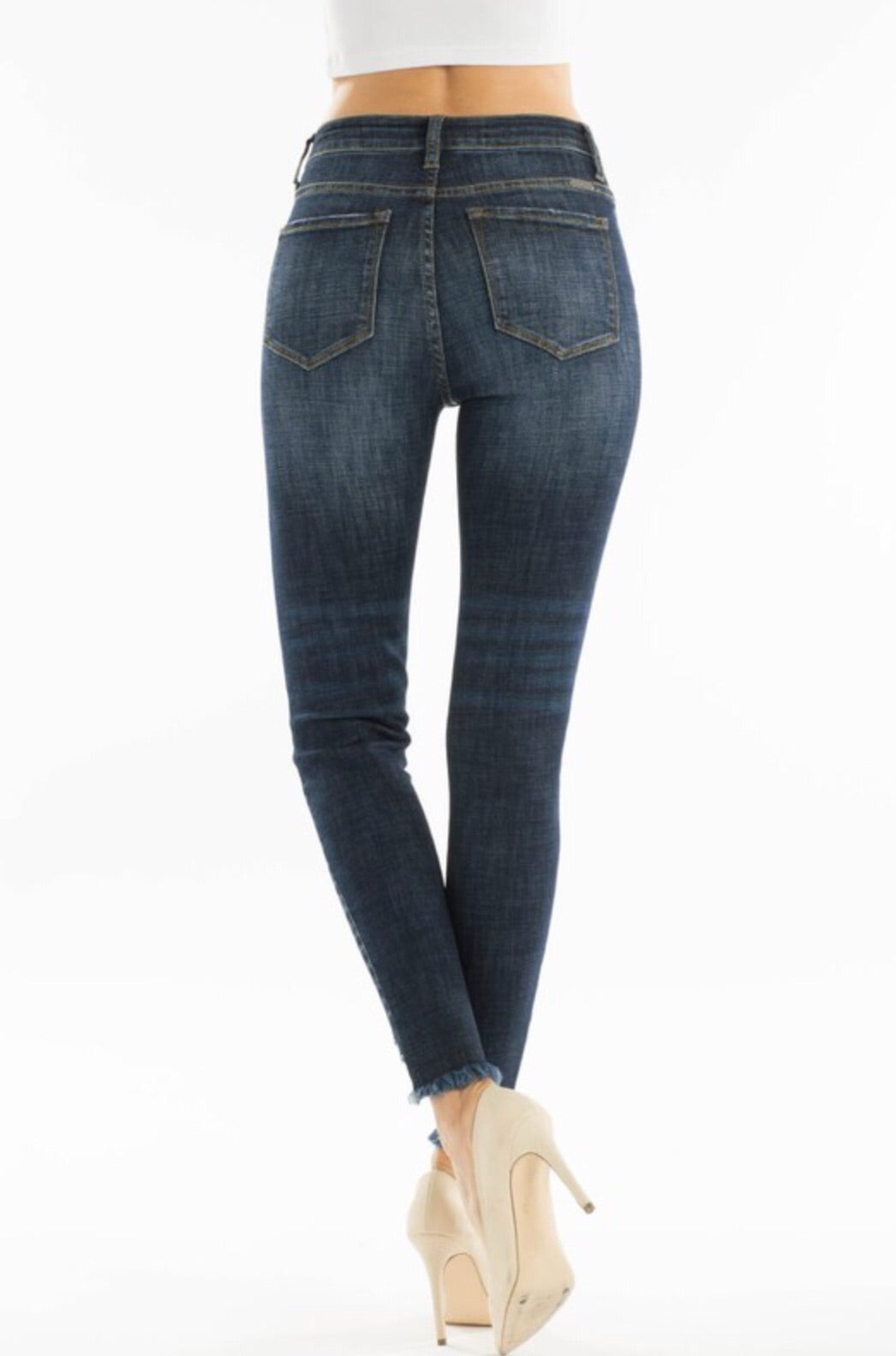 Odell High Rise Denim in Dark Wash
