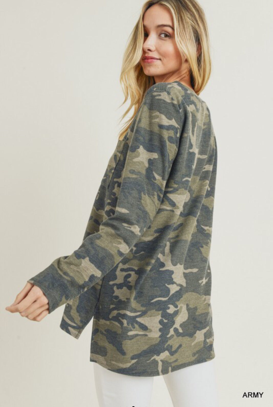 Forest Camoflauge Top