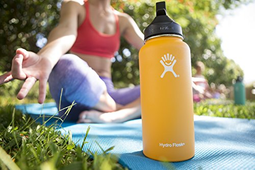 Hydro Flask Water Bottle - Stainless Steel & Vacuum Insulated - WM  with Straw Lid - Hobbiya Limited
