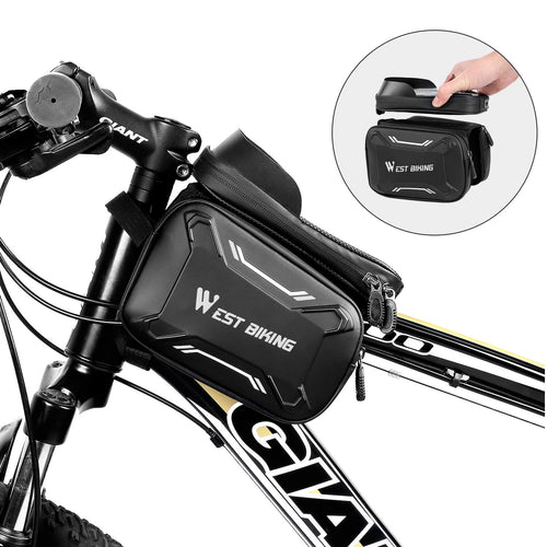 Bicycle Bags Front Frame High-quality - Hobbiya Limited