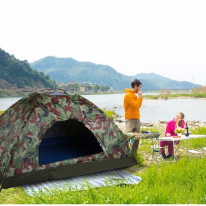 Single Layer Camping Tent - Hobbiya Limited