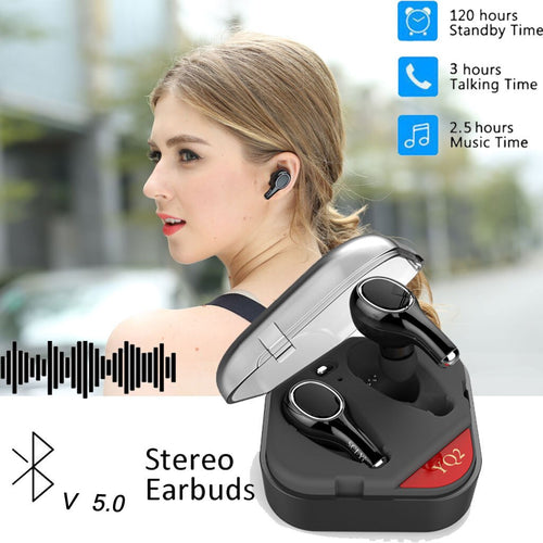 Bluetooth 5.0 TWS Headphones - Hobbiya Limited