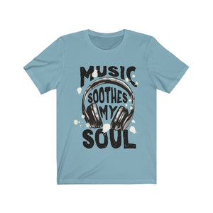 Headphone Short Sleeve T shirt - Hobbiya Limited