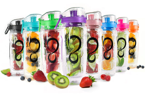 32oz Fruit Infuser Water Bottle - Hobbiya Limited