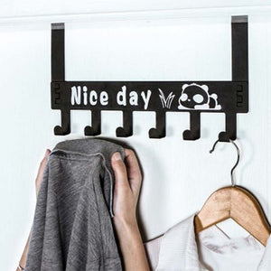6-Hook Bathroom Organizer Hanger - Hobbiya Limited