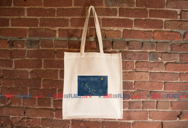 Alaska Flag Tote Bag