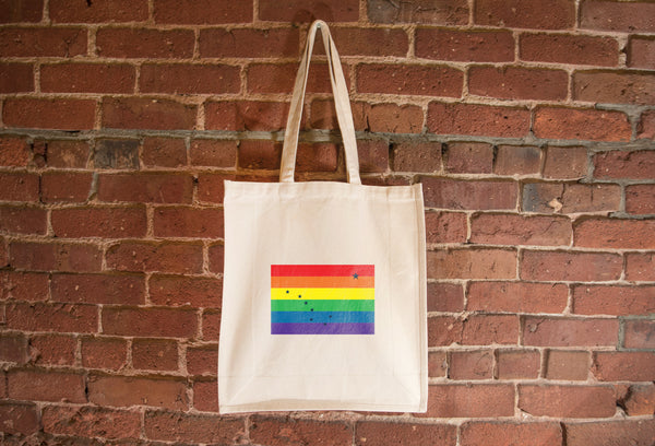 Alaska Pride Flag Tote Bag